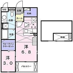 メゾン アベニュー[2階]の間取り