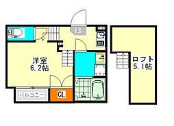 ハーモニーテラス並木(ハーモニーテラスナミキ)[1階]の間取り