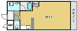 ネオハイム弥生[2階]の間取り