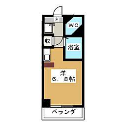 ドール塩釜口[3階]の間取り