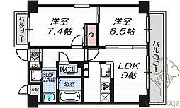 コンフォール・エスティオ[4階]の間取り
