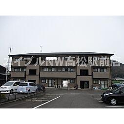 香川県高松市由良町の賃貸マンションの外観