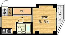 大安マンション[2階]の間取り