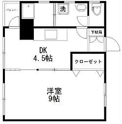 伊勢政ビル[4階]の間取り