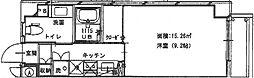 Meison de nakashima(メゾン・ド・ナカシマ)[101 201 301 401号室]の間取り