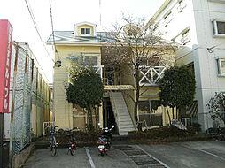 愛知県長久手市井堀の賃貸アパートの外観