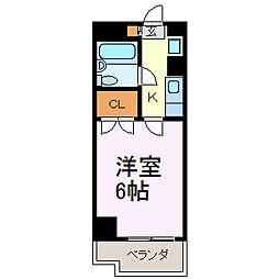 グッディチヨダ[306号室]の間取り