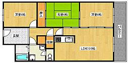 ラームズプラザ[101号室]の間取り