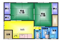 [一戸建] 静岡県三島市若松町 の賃貸【/】の間取り