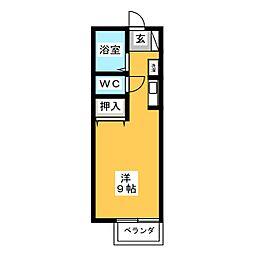 ホワイトメゾン高御堂[2階]の間取り