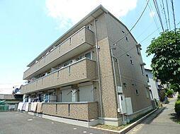 千葉県松戸市八ヶ崎6丁目の賃貸アパートの外観