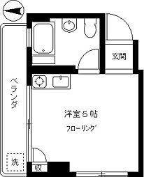 松岡マンション[301号室]の間取り