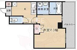 Grand Eterna京都西京極[1512号室号室]の間取り