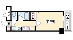 クオーレ三宮一番館[9階]の間取り