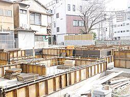 東京都足立区千住東2の賃貸アパートの外観