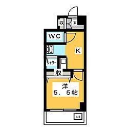 コスモス[3階]の間取り
