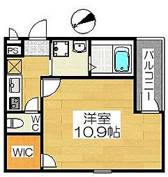 フジパレス浜寺石津III番館[2階]の間取り