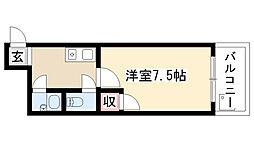 愛知県名古屋市昭和区長戸町3丁目の賃貸マンションの間取り