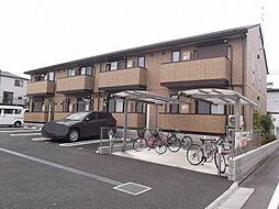 神奈川県相模原市中央区中央5丁目の賃貸アパートの外観
