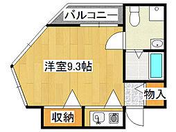 トゥリオーニEBISU[10階]の間取り