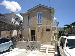 大阪府高槻市富田町6丁目の賃貸アパートの外観