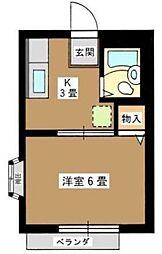 コンフォルト下北沢[1階]の間取り