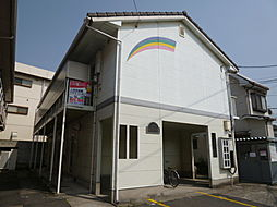岡山県倉敷市中庄の賃貸アパートの外観