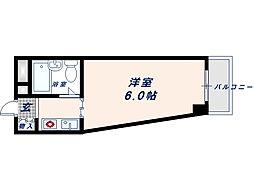 ベルハイム栄町[3階]の間取り