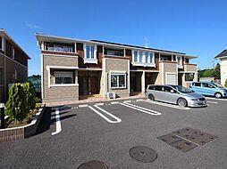 千葉県白井市根の賃貸アパートの外観