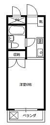 レスポワールK[3階]の間取り