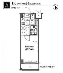 プライムアーバン大塚[1階]の間取り