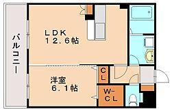 シエラハウス[2階]の間取り
