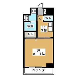 ルラシオン江戸橋[6階]の間取り