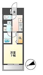 joule亀島[3階]の間取り