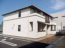 和歌山県紀の川市打田の賃貸アパートの外観