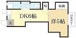 牧マンション[2階]の間取り