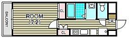 a la mode Hineno (アラモードヒネノ)[2階]の間取り