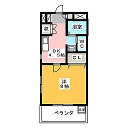 グリーンピュア[2階]の間取り