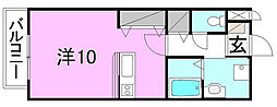 プリムローズ小坂[102 号室号室]の間取り