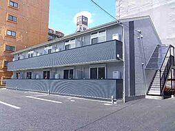 神奈川県川崎市中原区田尻町の賃貸アパートの外観