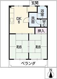 村瀬マンション[3階]の間取り