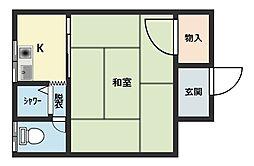 高岡マンション[2階]の外観