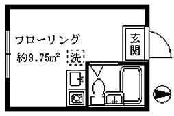 ライフピアクローチェ[1階]の間取り