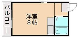 パルム須崎[3階]の間取り