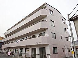 神奈川県横浜市鶴見区東寺尾3丁目の賃貸マンションの外観