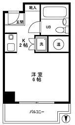 ライオンズマンション大塚角萬[6階]の間取り