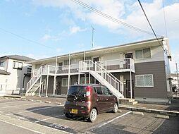 滋賀県甲賀市水口町東名坂の賃貸アパートの外観