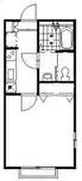 リリックコート・セレナVI[2階]の間取り