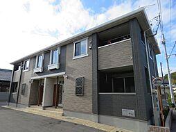滋賀県近江八幡市小船木町の賃貸アパートの外観