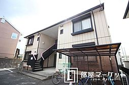 愛知県豊田市美里5丁目の賃貸アパートの外観
